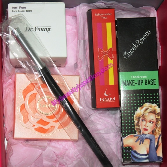 Makeup-only Memebox review, unboxing: Korean beauty box
