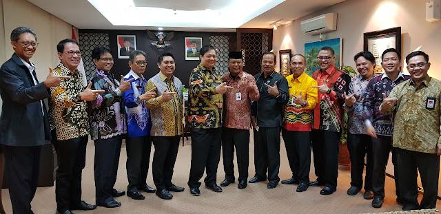 Menteri Airlangga  Dukung Pembangunan Politeknik Industri Batulicin