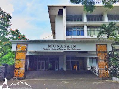 Penampakan gedung Museum Munasain Bogor