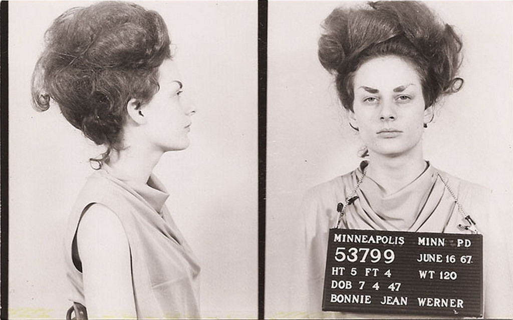 20 Amazing American Women Mugshots In The 1960s Vintage