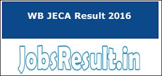 WB JECA Result 2016