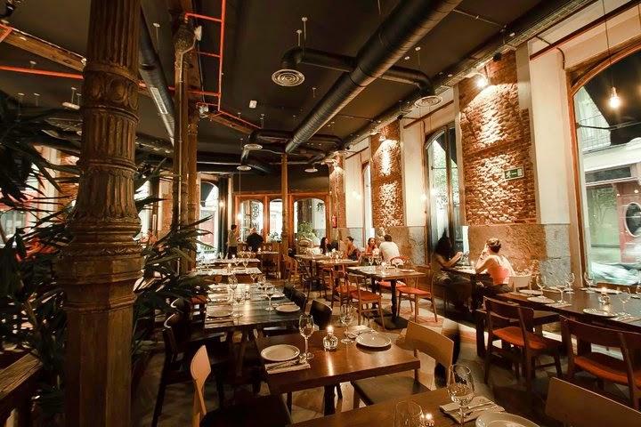 restaurante lamucca calle prado madrid centro
