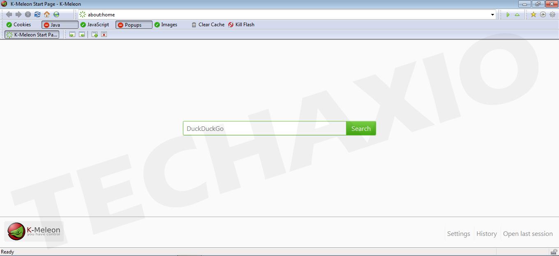 K-Meleon Browser Screenshot
