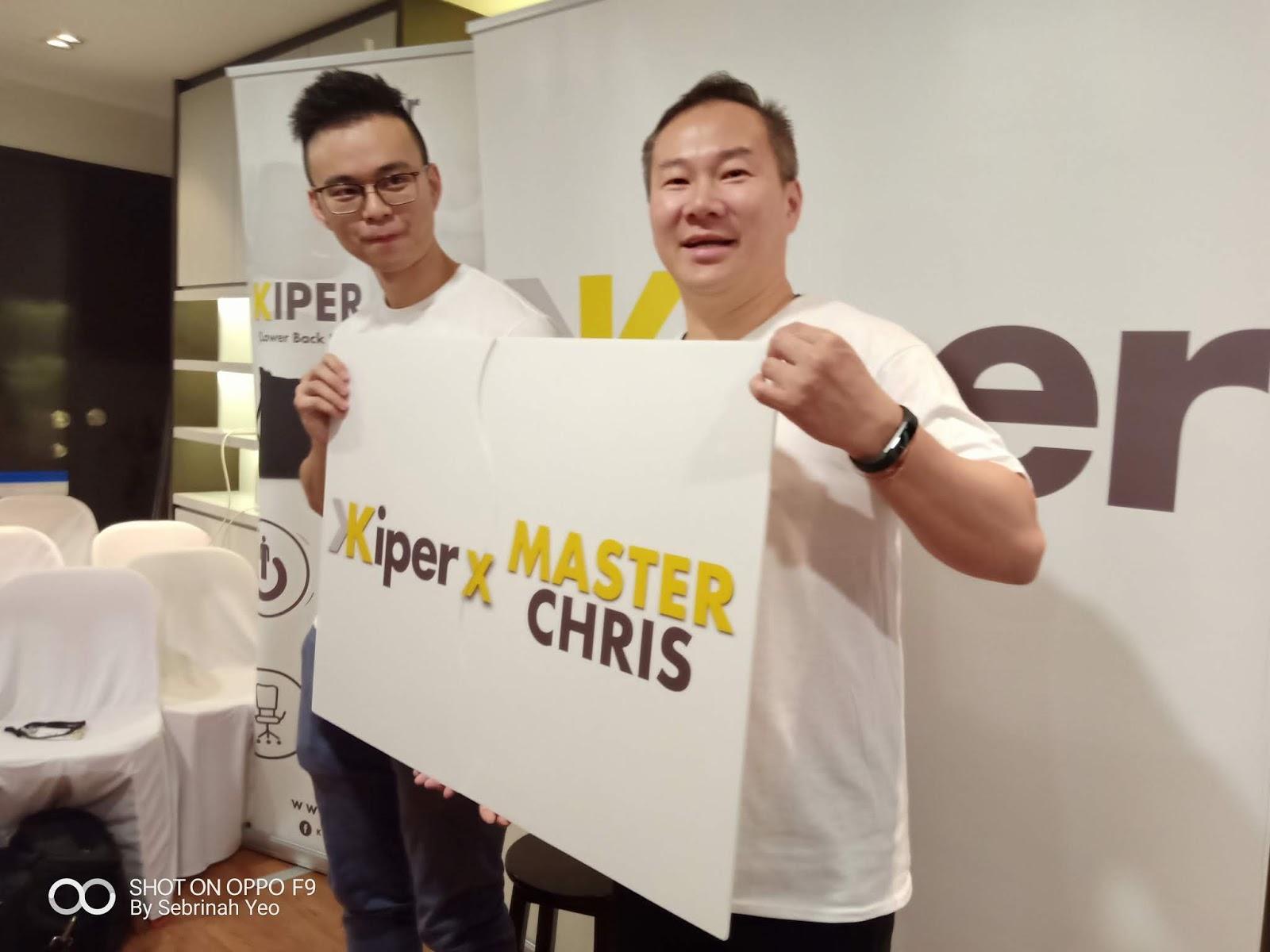 Kiper Collaboration with Master Chris Leong - Sebrinah Yeo