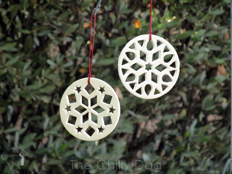 Tutorial: Clay Snowflake Ornaments   The Chilly Dog