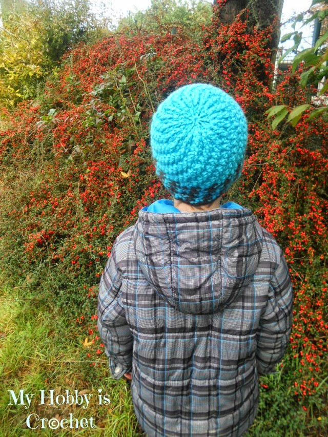 Crochet Hat Swirling Ribs - Free crochet pattern with tutorial and crochet chart