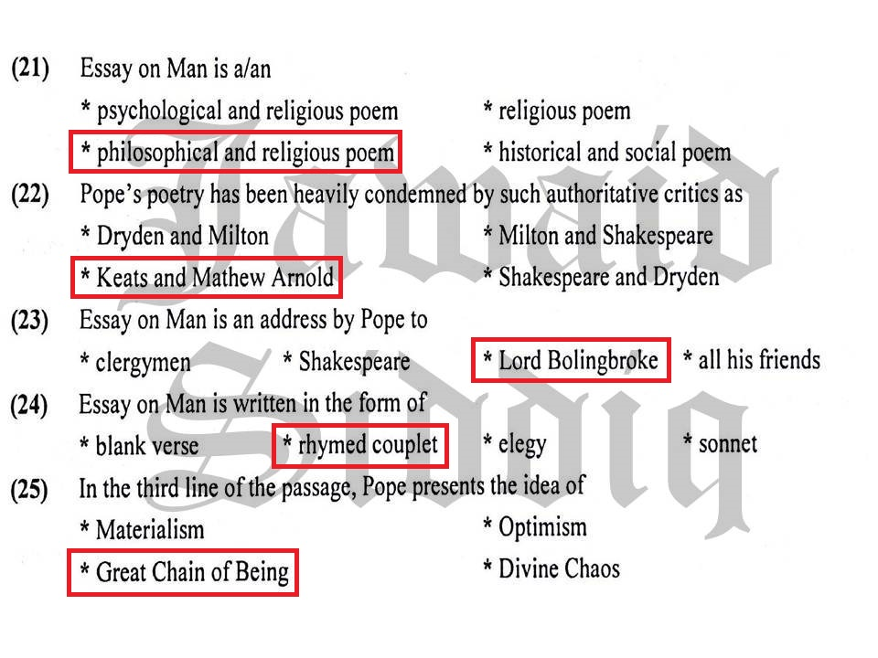 summary of poem lines from an essay on man Summary of stanza 1 of the poem the white man's burden  lines 1-4 take up the white man's burden--send forth the best ye breed--go bind your sons to exile.