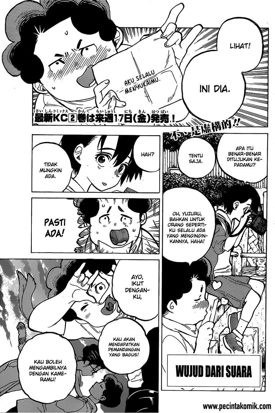 Koe no Katachi Chapter 20-2