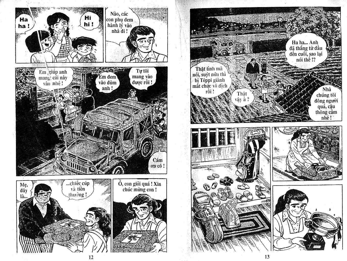 Ashita Tenki ni Naare chapter 21 trang 5