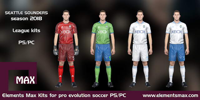 Seattle Sounders PES Kits