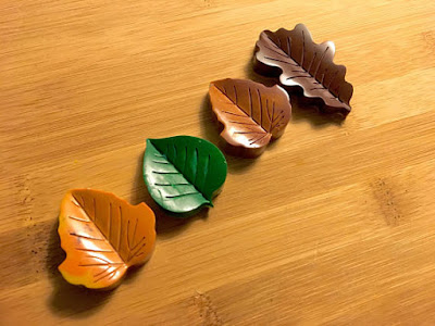 Nature Leaf Crayons