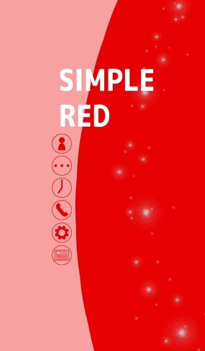 Simple red thema typeA(For Japan)