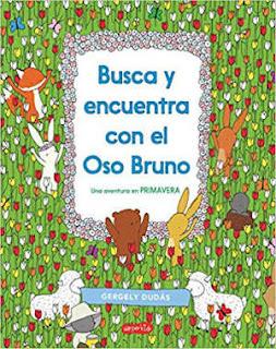 Libro Busca y Encuentra con el oso bruno, harper kids