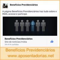 Curta a Página Benefícios Previdenciários no Facebook