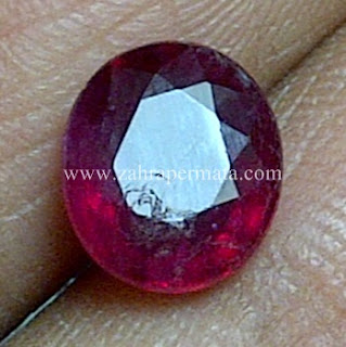 Batu Permata Ruby Pigeon Blood - ZP 590