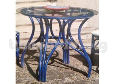 mesa comedor terraza rattan j254