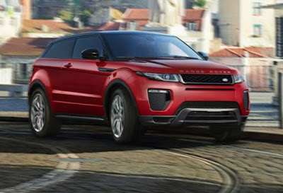 Range Rover Evoque estimated fuel economy EPA