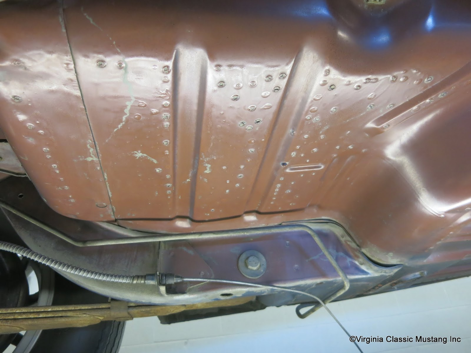 Virginia classic mustang blog april 2016 for 1967 mustang floor pan