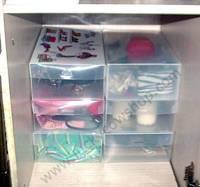 cabinet organizer box