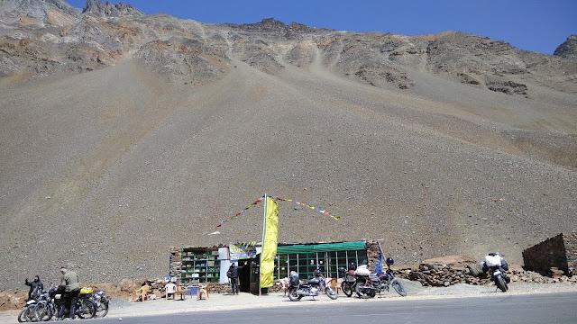 Leh Ladakh Bike Trip, Zing Zing Bar
