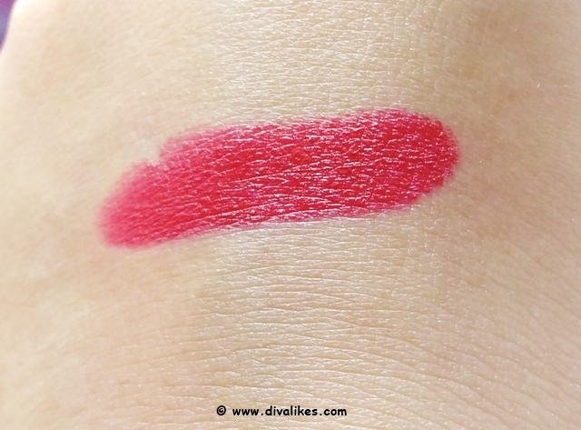 Maybelline Color Show Big Apple Red Creamy Matte Lipstick Dare To Be Red Swatch