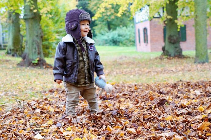 Mama za obiektywem: jesień