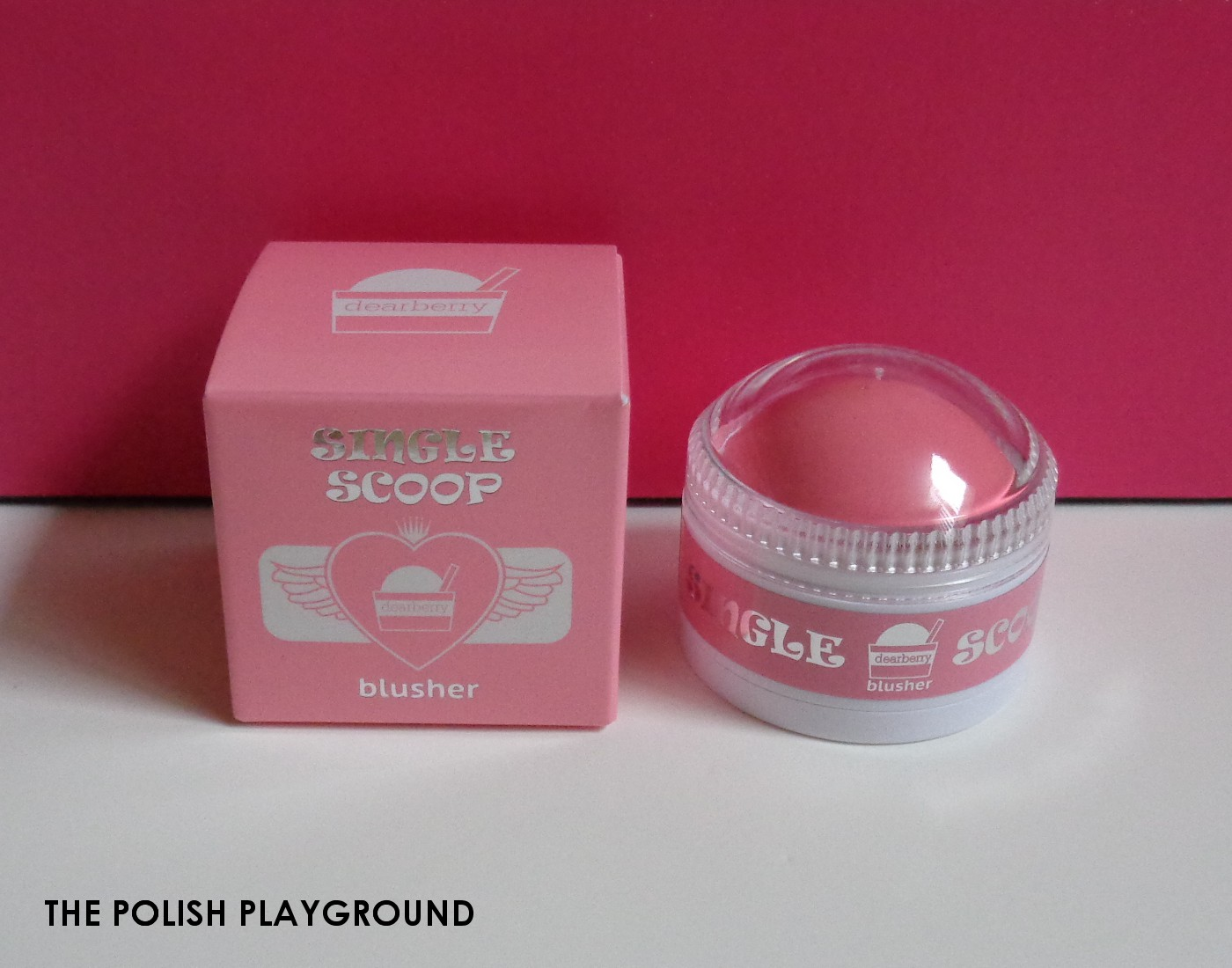 Memebox Special #47 My Dessert Box Unboxing - dearberry Single Scoop Blusher in 01 Chiffon Pink