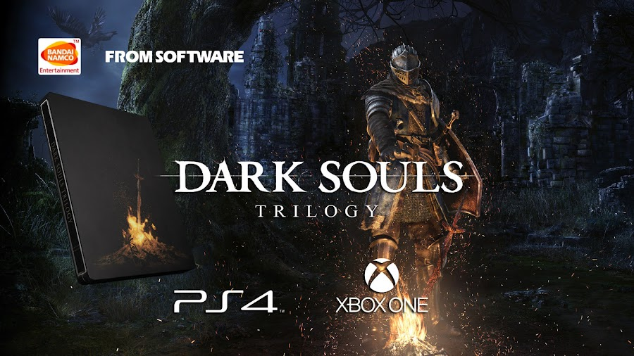 bandai namco dark souls trilogy ps4 xbox one