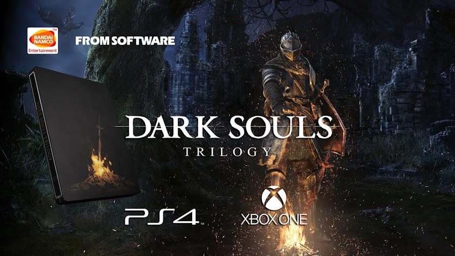 bandai namco dark souls trilogy ps4 xbox one