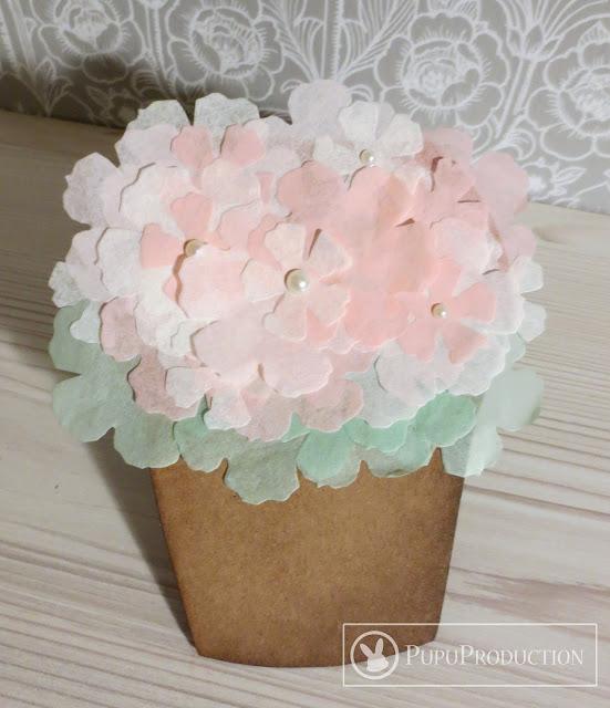 flowers in pot card