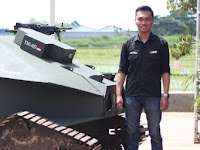 Cool, Indonesian students make robots tanks for the Army