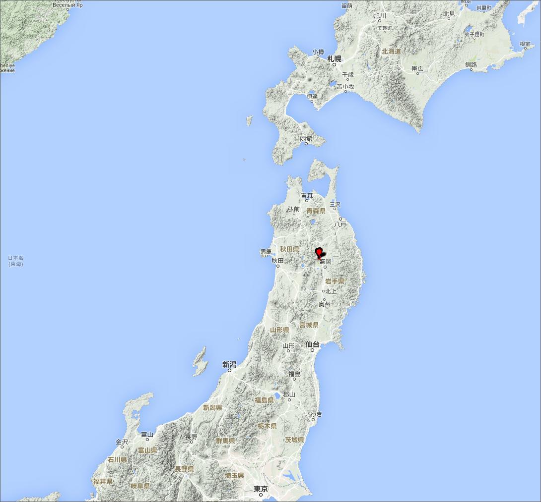 Taipei Hiker: 2015年6月14日 日本東北地區巖手山 南部富士を登る
