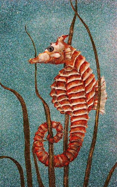 Seahorse Doreen Stopczynski Daily Painters