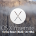 Download OS X 10.10.2 Beta 6 (14C106a) Yosemite Combo / Delta .DMG Files via Direct Links