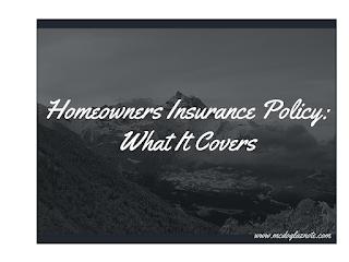 Homeowners Insurance Screenshot