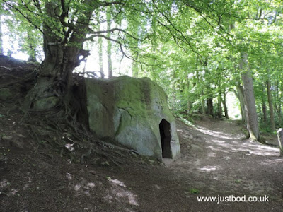 The Hermitage, Littlebeck Woods, North Yorkshire