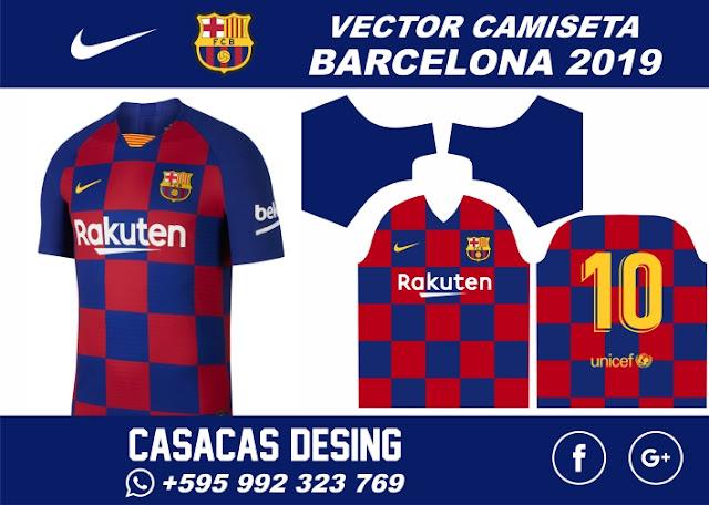 la nueva camisa del barcelona 2019