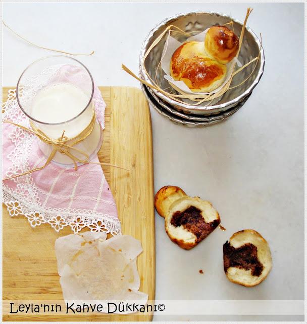 nutellalı-brioche, brioche-ekmeği-tarif, briyoş-nasıl-yapılır