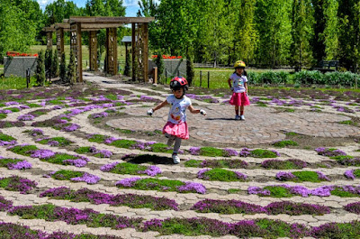 Labyrinth at Silver Springs Botanical Gardens