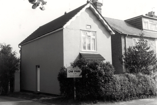 Photograph of the old school house, Thornton Road in 1982 Image from the former NMLHS