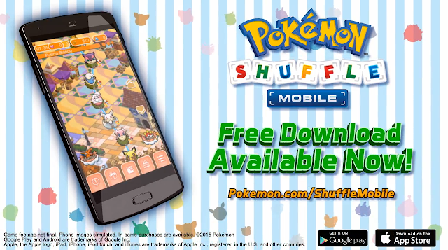 Pokémon Shuffle Mobile free download Google Play App Store