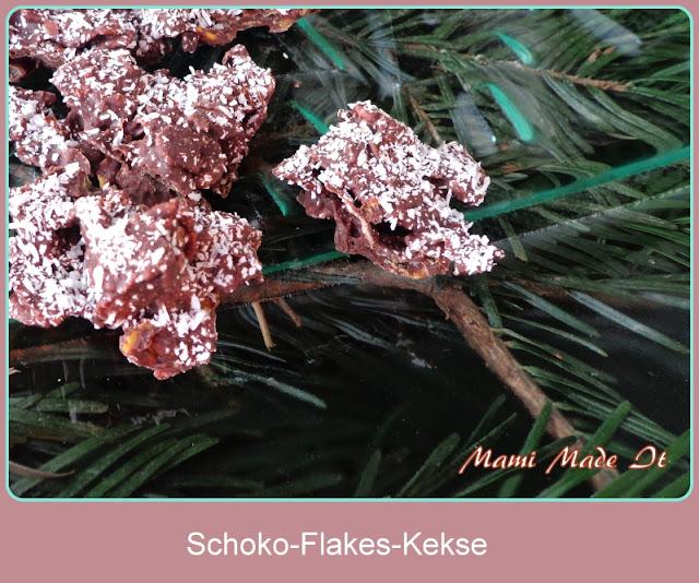 Schoko-Flakes-Kekse - Choco-Flakes-Cookies