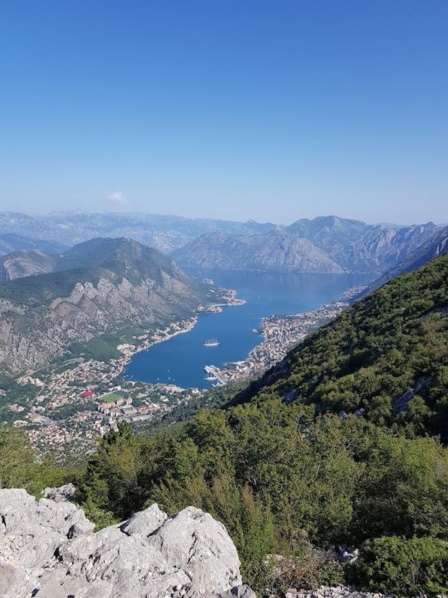 montenegro, matkakertomus, kotorinlahti