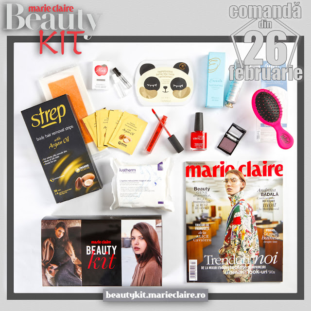 Marie Claire Beauty Kit Februarie 2019
