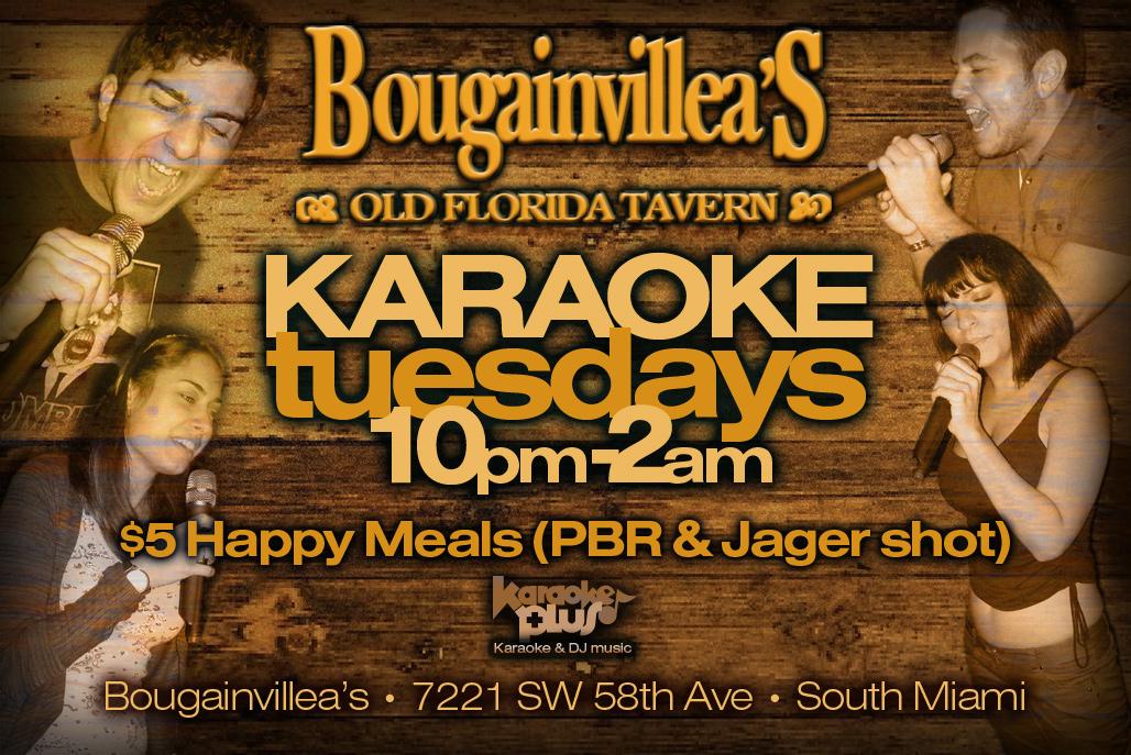 Bougainvillea S Karaoke Tuesdays February 5 2017