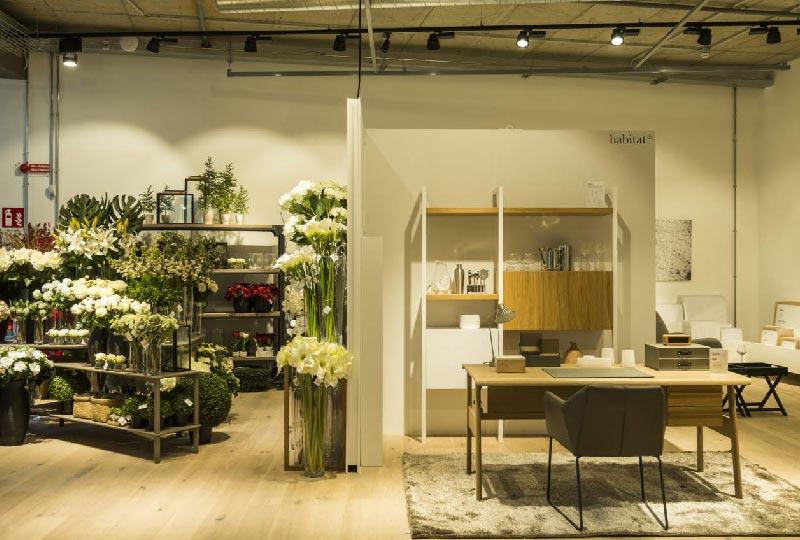 Il nuovo store milanese di Habitat