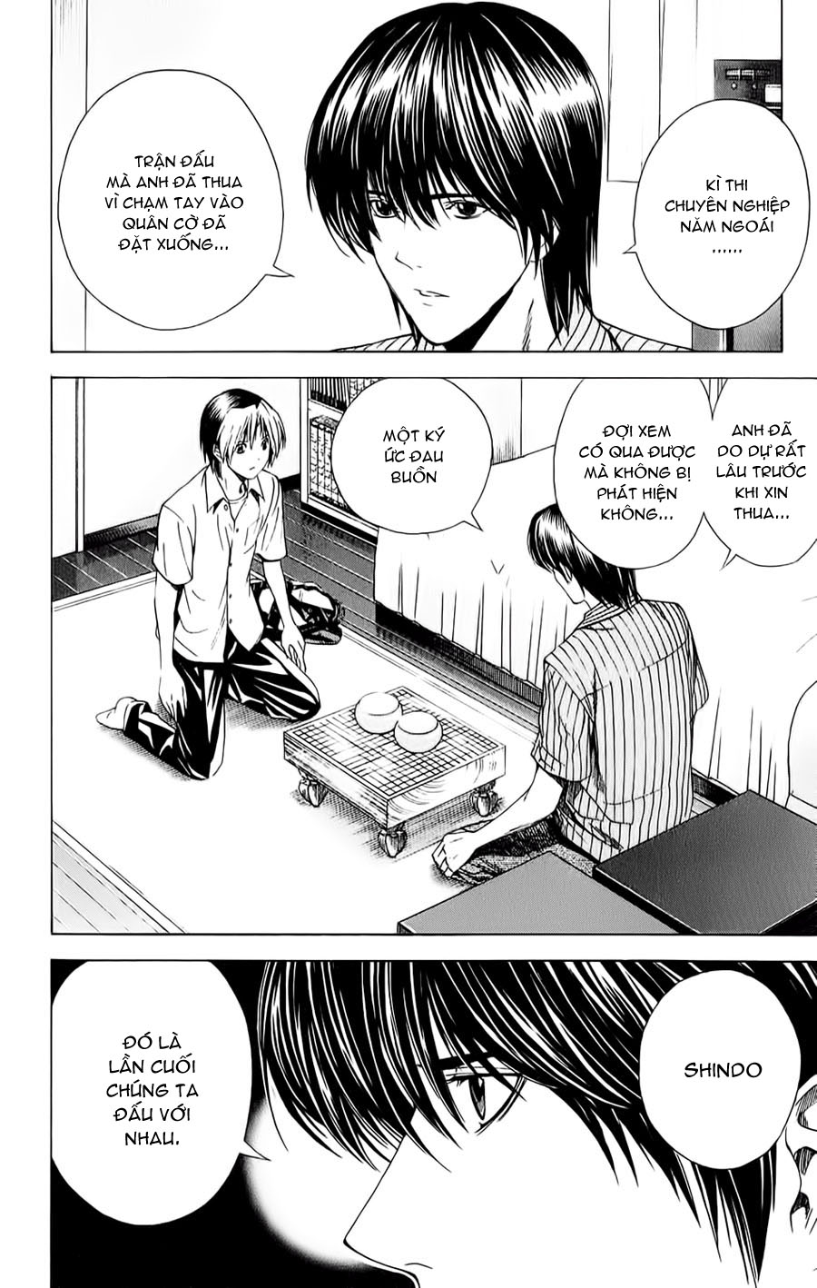 Hikaru No Go hikaru no go chap 139 trang 3