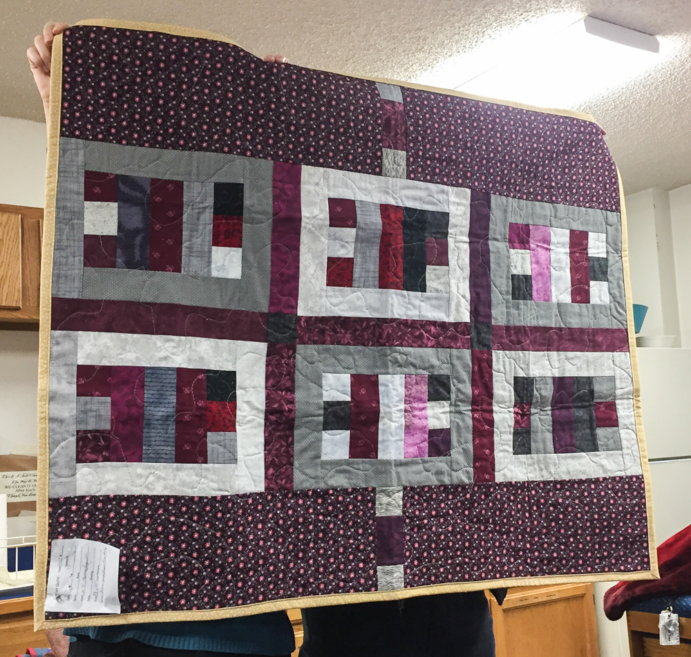 Anchorage Log Cabin Quilters January 4 2018 Show And Tell