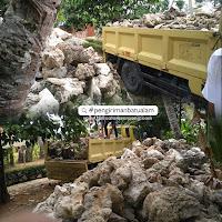 pengiriman batu alam antar pulau