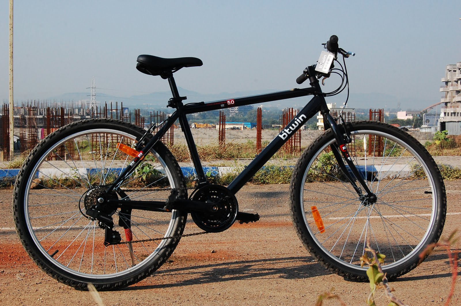 """4f0df4d39f1d A detailed look at my new """"btwin Rockrider 5.0"""" bicycle  Photos ..."""